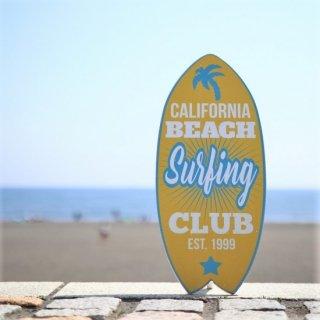 西海岸インテリアの定番!サーフボード型オブジェ。サーフィンクラブ
