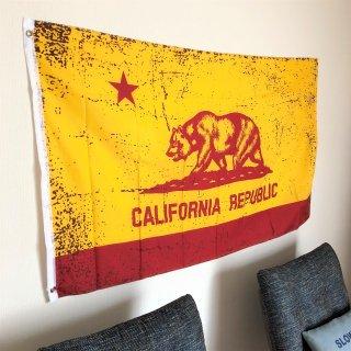 カリフォルニア州のゴールド×レッドフラッグ