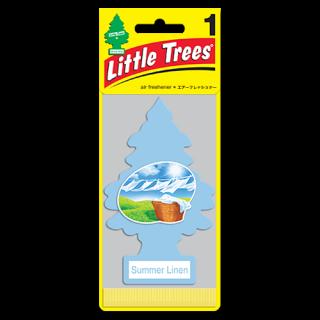洗い立ての麻生地の香り♪リトルツリーのサマーリネン