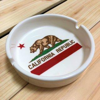 カリフォルニア州旗柄アッシュトレイ(灰皿)