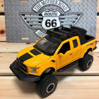 FORD F150 RAPTER 1:32 DIECAST YELLOW ( フォード ラプター ダイキャストカー イエロー )