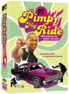 MTVで人気を博した車改造番組!ピンプマイライド シーズン1のDVD