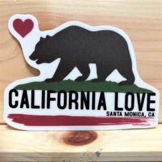 カリフォルニア州旗のベアーステッカー
