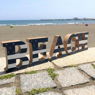 BEACH ロゴスタンド