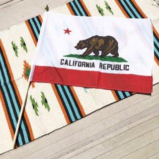 カリフォルニア州旗のスティックフラッグ