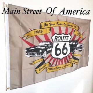 ルート66 Main Street Of Americaのフラッグ