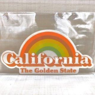 カリフォルニア GOLDEN STATEのステッカー