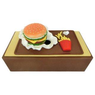 ハンバーガーの面白ティッシュカバー♪