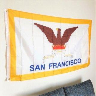 <img class='new_mark_img1' src='https://img.shop-pro.jp/img/new/icons14.gif' style='border:none;display:inline;margin:0px;padding:0px;width:auto;' />カリフォルニア州 サンフランシスコの市郡旗