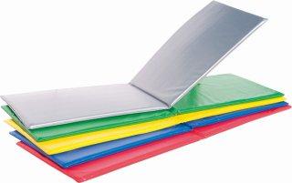 折式フィットネスマット レッド