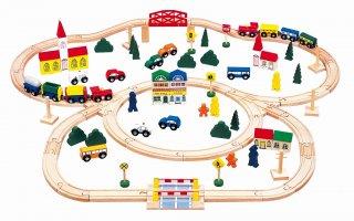 街と鉄道あそび デラックス100ピース