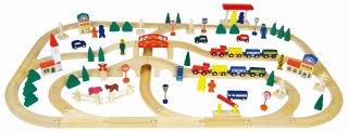 街と鉄道あそび スーパーデラックス120ピース