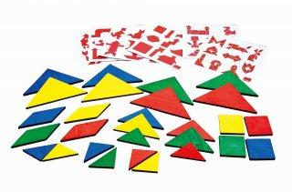 三角四角で形づくり