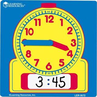 書いて消せる学習時計 生徒用 10個セット