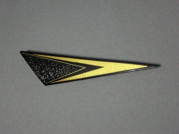 ブローチ V模様 (鈍角三角形)