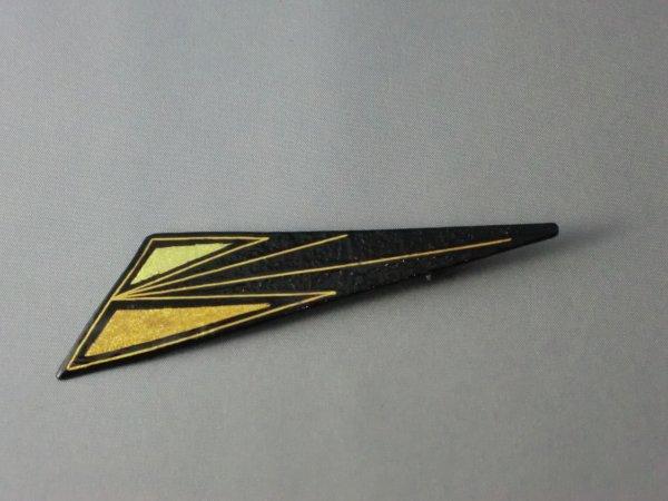ブローチ 幾何学模様(鈍角三角形)