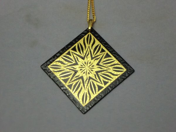 ペンダント 神聖幾何学星(正方形菱)