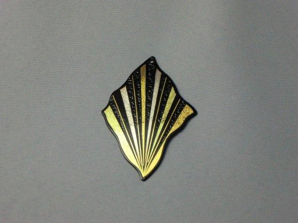 ペンダント   集中線 (波型菱形)