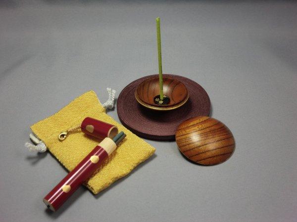 ふところ香炉(紅葉)