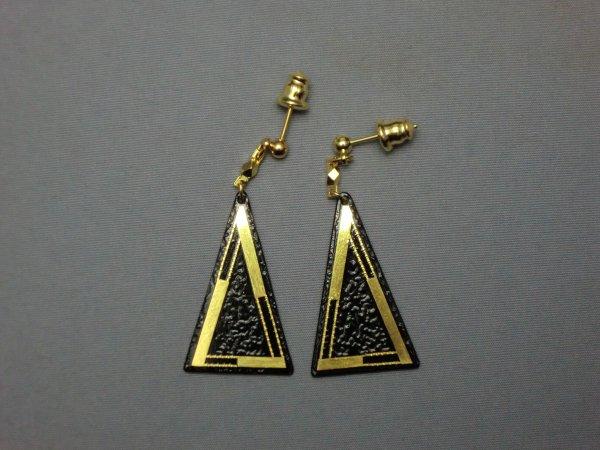 ピアス 枠(二等辺三角形)