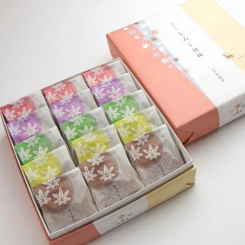 5種15個入り(こしあん・つぶあん・抹茶・クリーム・チョコレート)