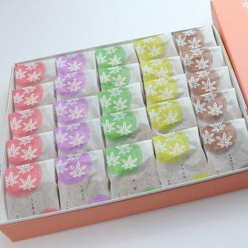 5種25個入り(こしあん・つぶあん・抹茶・クリーム・チョコレート)