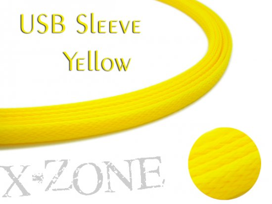 USB Sleeve - YELLOW