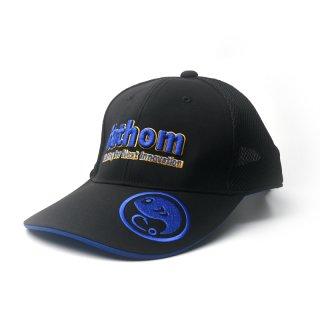 fathom ハーフメッシュキャップ 3Dロゴ Blue