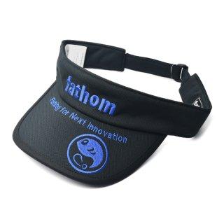 fathom サンバイザー Blueロゴ