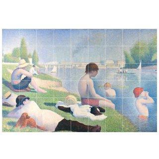 Bathers at Asnieres / IXXI ウォールピクチャー