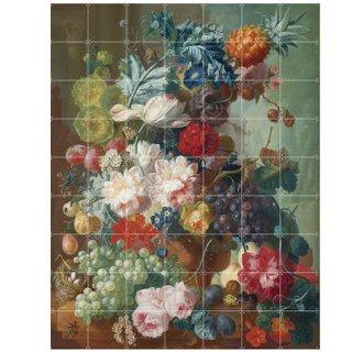 Still life of Fruit of Flowers / IXXI ウォールピクチャー