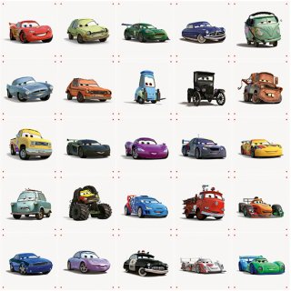 Cars Colleage (large) / IXXI ウォールピクチャー