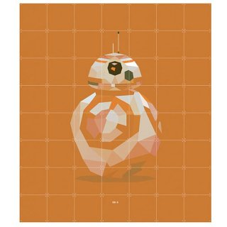 Star Wars  SW Icon : BB-8 / IXXI ウォールピクチャー