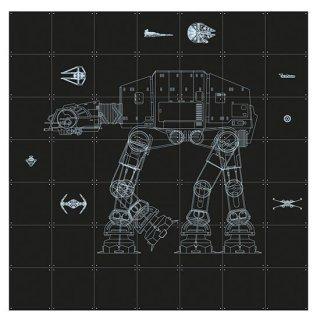 Star Wars Galaxy  / IXXI ウォールピクチャー