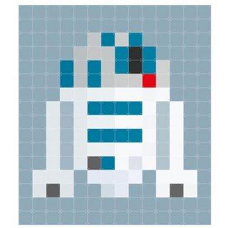 Star Wars R2-D2 pixcel / IXXI ウォールピクチャー