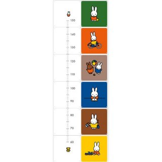 Miffy Growth Chart  / IXXI ウォールピクチャー