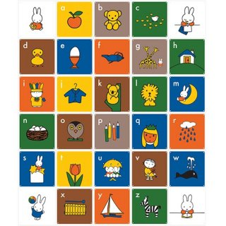 Miffy ABC (English) / IXXI ウォールピクチャー