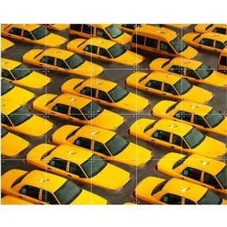 Yellow Cabs / IXXI ウォールピクチャー