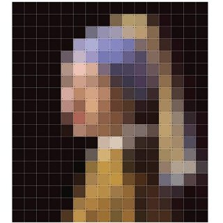 Girl with Pearl Earring pixcel /   IXXI ウォールピクチャー