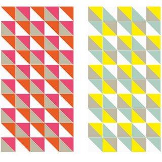 Loco Yellow & Pink large リバーシブル / IXXI ウォールピクチャー