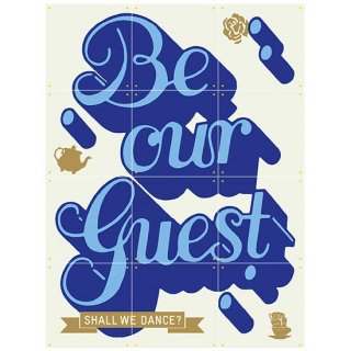 Be our Guest / IXXI ウォールピクチャー