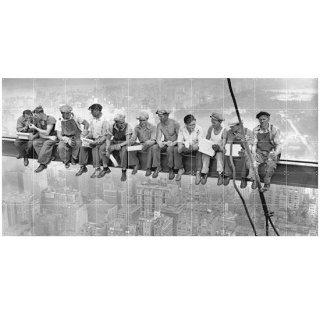 Construction workers / IXXI ウォールピクチャー
