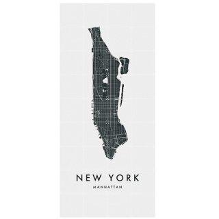 New York (Manhattan) city map / IXXI ウォールピクチャー / ニューヨーク マップ