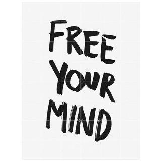 Free your mind / IXXI ウォールピクチャー
