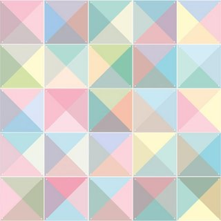 Loco Pastel リバーシブル / IXXI ウォールピクチャー