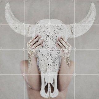 Bohemian Skull / Hannah Lemholt / IXXI ウォールピクチャー