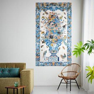 期間限定セール!Tile Panel with flowers still life / IXXI ウォールピクチャー