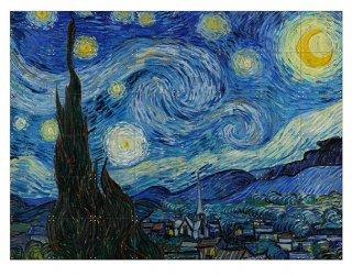 ゴッホ The Starry Night / IXXI ウォールピクチャーsize small 100 x 80cm