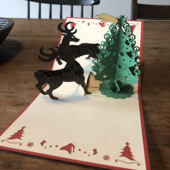 Cutwork Art Christmas Card