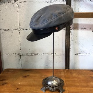 OROX LEATHER Co./ CANVAS WORK CAP/GRAY